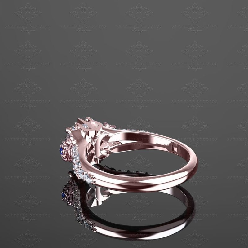 eternal-1-65ct-princess-cut-rose-gold-inspired-final-fantasy-engagement-ring (5)