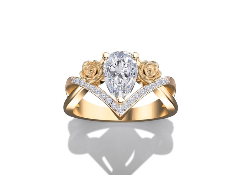 lola-pear-cut-gold-floral-ring